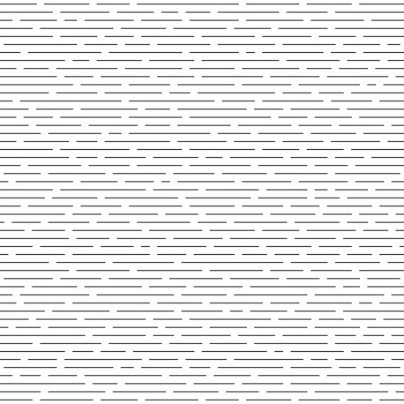 parallel: Horizontal intermittent parallel lines. Seamless monochrome pattern. Texture for background. Illustration