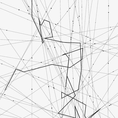 Ilustracin De Vector Minimalista Monocromo Moderno Fondo
