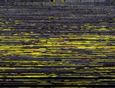 Modern glitched background illustration. Random signal error. Corrupted digital image.
