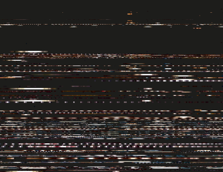 distort: Modern glitched background illustration. Random signal error. Corrupted digital image.