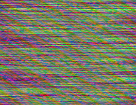 Modern static glitch background. Random digital signal error. Broadcast fault. Distorted computer screen. Abstract contemporary illustration made of colorful pixel mosaic. Element of design.