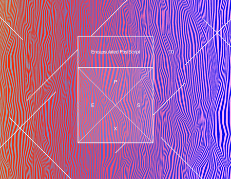 Colorful iridescent psychedelic sharp wavy background with minimalistic A4 frame. Random digital signal error. Modern futuristic abstract hypnotic vector illustration. Element of contemporary design.