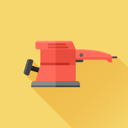 sander: Electric sander flat icon