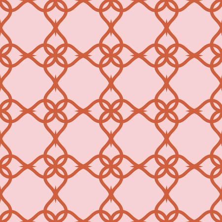 Abstract geometric pattern with repeating elements. Vector seamless texture.