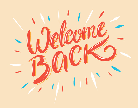 Image result for picture welcome back