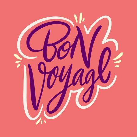 Bon Voyage. Foto de archivo - 129717491