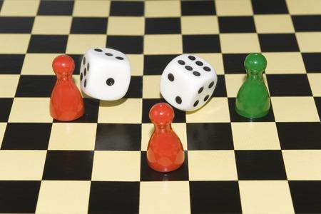 チェス盤のさいの目に切る