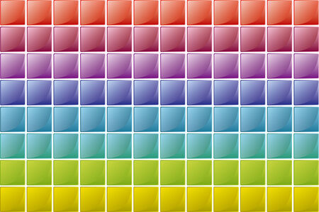 color squares texture in degradade order Vector