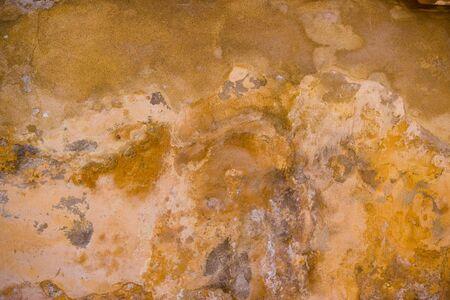 grunge textura en la pared de color ocre Foto de archivo - 3080067