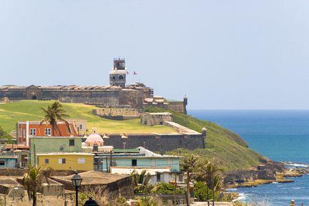 el morro fort in san juan de puerto rico