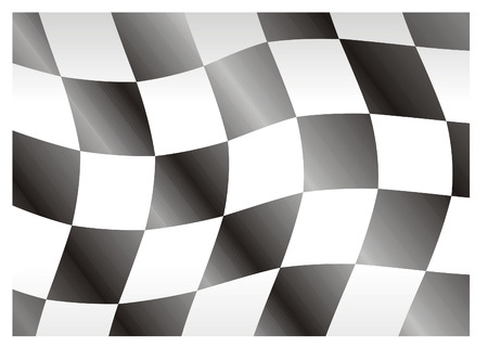 race flag bright squares great for texture Stock Vector - 3160950