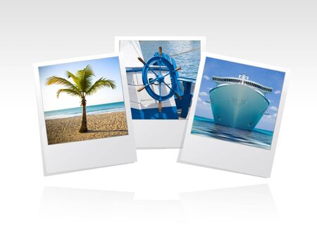 put: photo frame, vacations, put your memories on