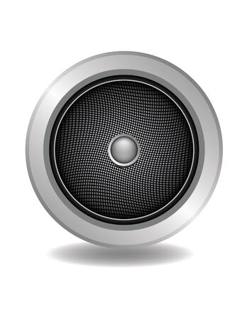 audio speaker vector for music enjoy Illustration
