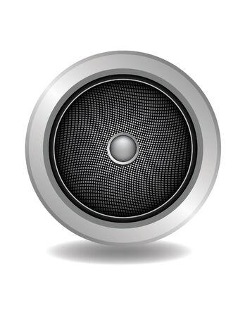 audio speaker vector for music enjoy Illustration