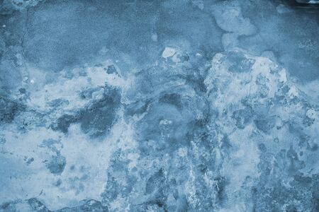 grunge wall texture in blue color  photo