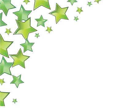 green stars frame for all seasons photo