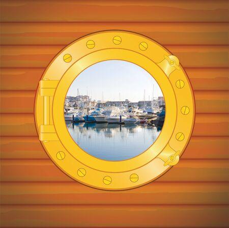 navy pier: porthole pier in vallarta mexico