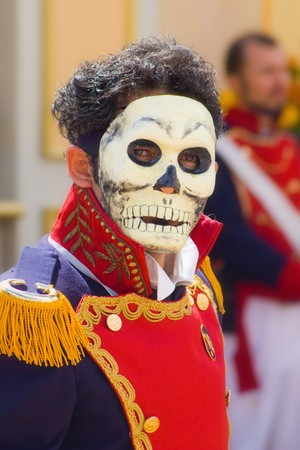 skull face in mexican tradition Stock Photo - 4045515