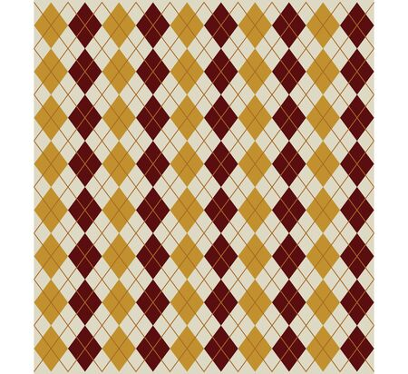 rhombus texture in brown colors fabric photo