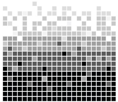 squares texture mono in vector