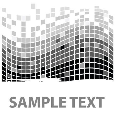 squares texture mono in vector Stock Photo - 4128438
