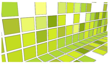 squares colors perspective in  vectors photo