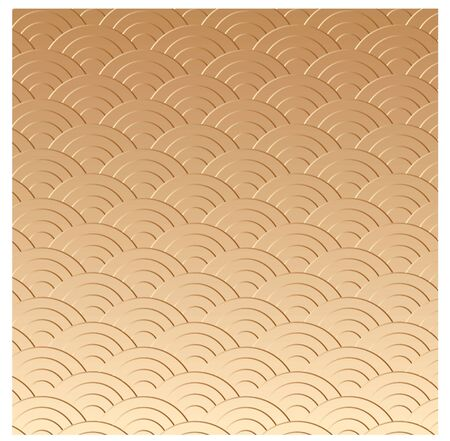 gold oriental texture in vector photo