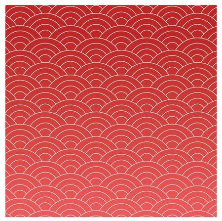 ベクター モードで赤い東洋テクスチャ 写真素材