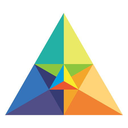 Chromatic triangle in vector mode Vector