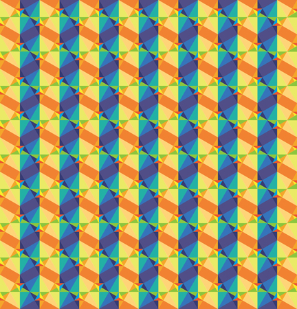 chromatic: Chromatic triangle texture in vector mode Illustration