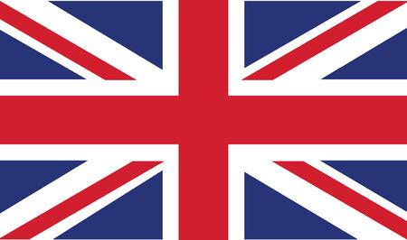 Bandera del Reino Unido en modo vectorial Foto de archivo - 5013204