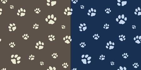 paw texture bicolor in vector Vettoriali