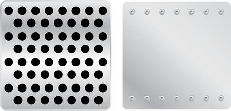 pavimento lucido: piatti d'argento in modalit� Vetor