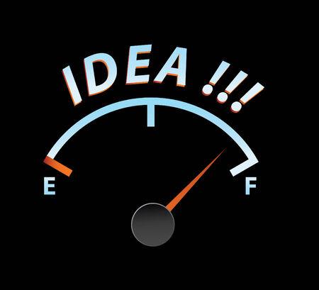 idea meter in vector mode