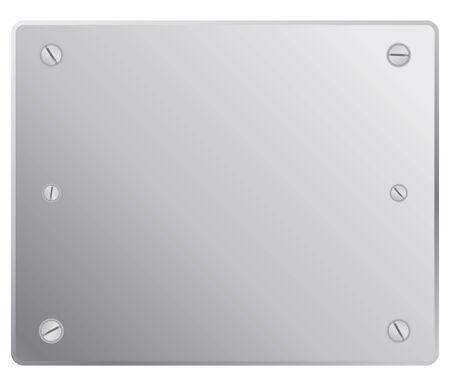 prata: silver plete in vector mode