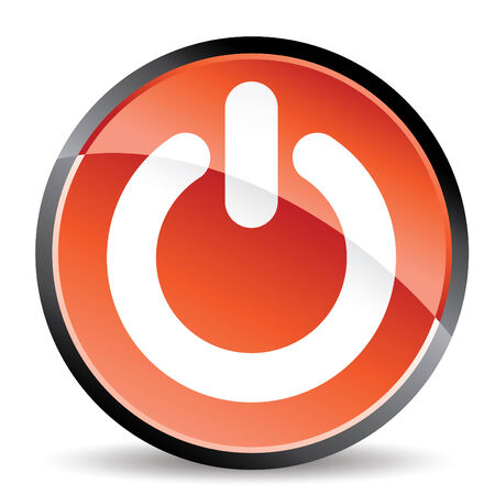 power standby icon in vector mode Vector