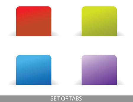 tabs: set of tabs for blogs and websites