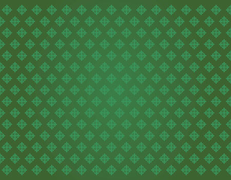 green cross texture of calatravas Vector