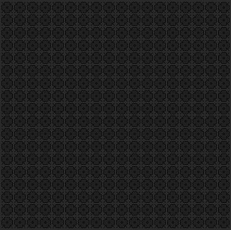 grunge background: black flower texture in vector mode Illustration