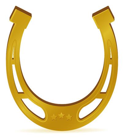 paard schoen voor gelukkig nieuw jaar