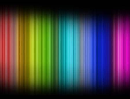 color spectrum in white background Stock Photo - 7135587