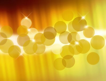 yellow color spectrum blur and star background photo