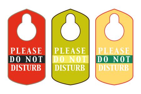 hangers: vintage hotel hangers do not disturb