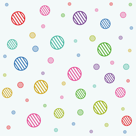 stripe circles texture for tile and make bigger Stock Vector - 7748197