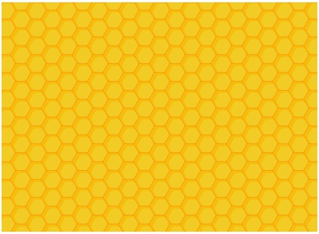 comb: honeycomb backgound Illustration