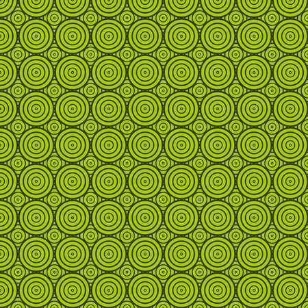 green circle texture, asian style Illustration