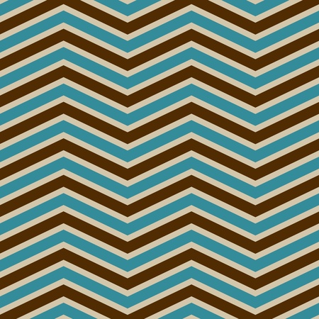 zag: chevron pattern vintage style
