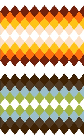 two color rhomb textures