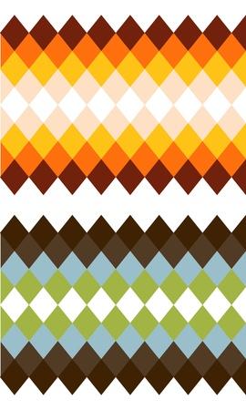 rhomb: two color rhomb textures