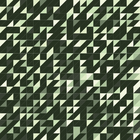 tile: triangle green texture, tile Illustration